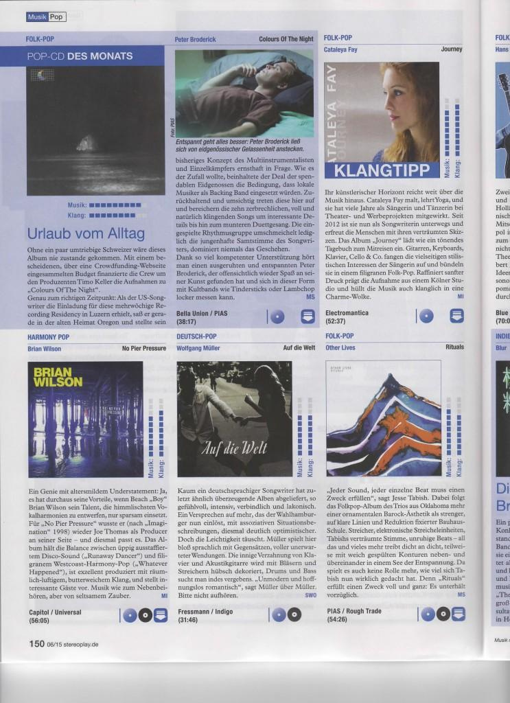 Magazin Stereoplay Rezension zu
